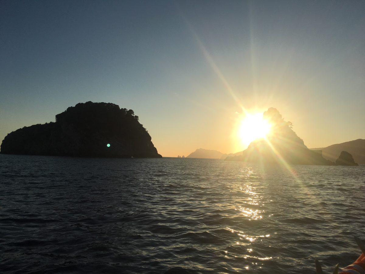 15.09.2017 Segeln im Golf von Neapel (Kampanien)